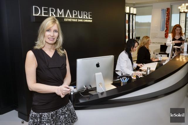 Marie-Josée Bégin, directrice des opérations Groupe Dermapure... (Le Soleil, Jean-Marie Villeneuve)