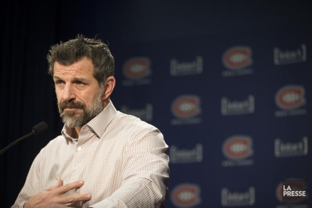 Le directeur général du Canadien de Montréal, Marc... (Ivanoh Demers, archives La Presse)