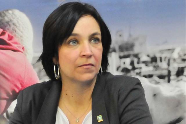 La coordonnatrice de l'Accorderie de Trois-Rivières, Marie-Claude Camirand.... (Archives, Le Nouvelliste)