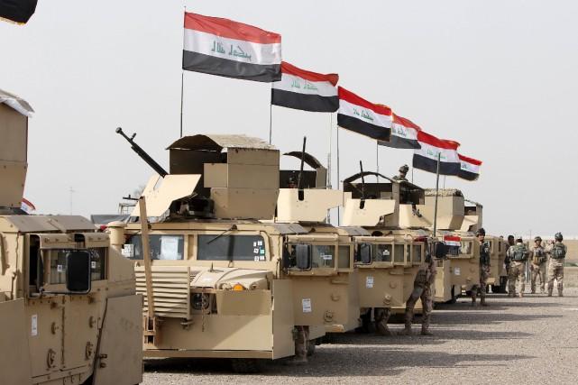 Selon un colonel de l'armée, plus de 7000... (PHOTO Ahmed Saad, ARCHIVES REUTERS)