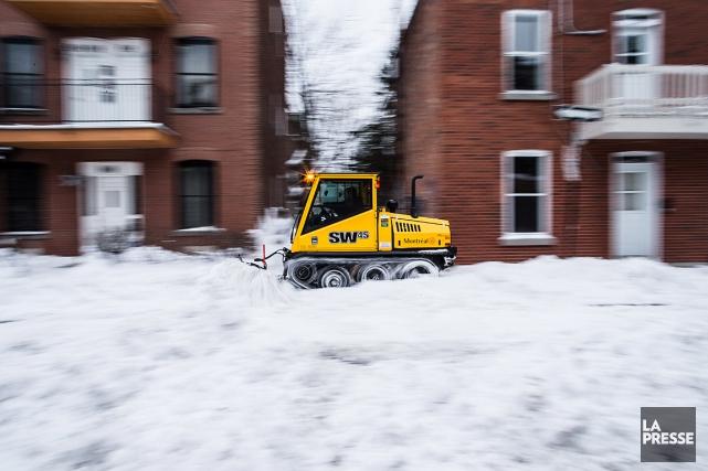 Сегодня вечером в Монреале ожидаются сильный снегопад и метель