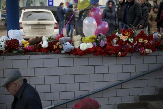 La mort de l'enfant a choqué les Moscovites,... (Photo Ivan Sekretarev, Associated Press)
