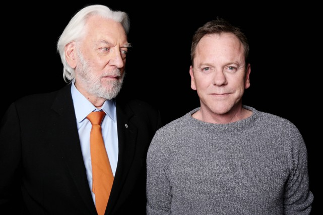 Donald et Kiefer Sutherland... (PHOTO AP)