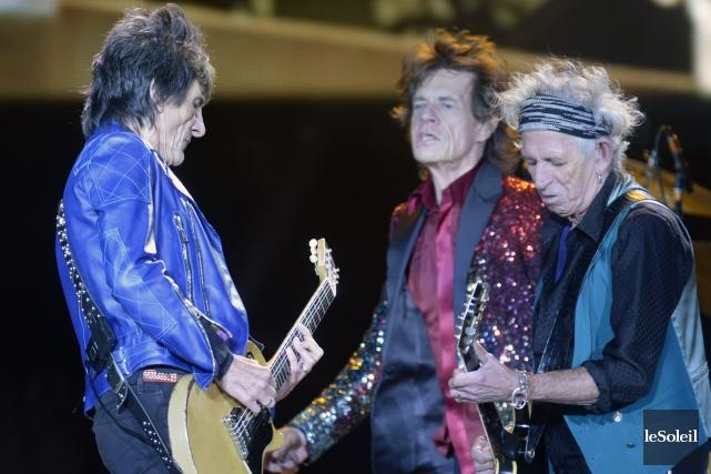 Les Stones ont joué à plusieurs endroits, dont... (Photothèque Le Soleil, Jean-Marie Villeneuve)