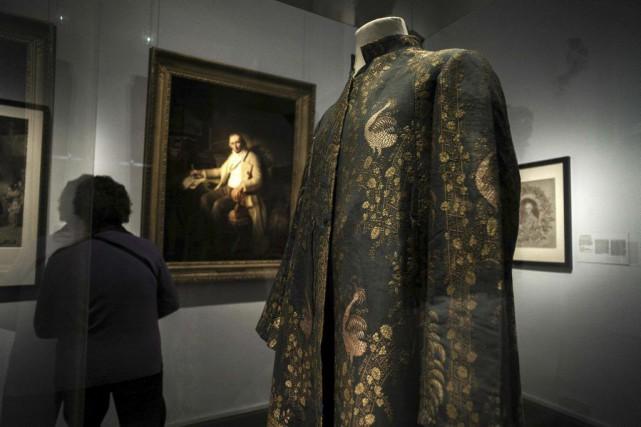 Le musée des tissus et arts décoratifs de Lyon, qui renferme la plus belle... (PHOTO AFP)