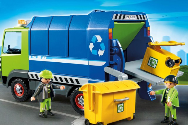 Playmobil se met à l'air du temps avec... (PHOTO FOURNIE PAR PLAYMOBIL)