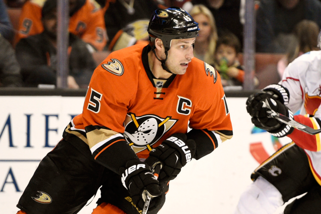 L'attaquant des Ducks Ryan Getzlaf a récolté 20 points... (Photo Kelvin Kuo, archives USA Today)