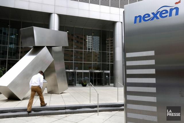 Nexen, l'entreprise établie à Calgary acquise par la société chinoise CNOOC il... (Photo Archives La Presse Canadienne)