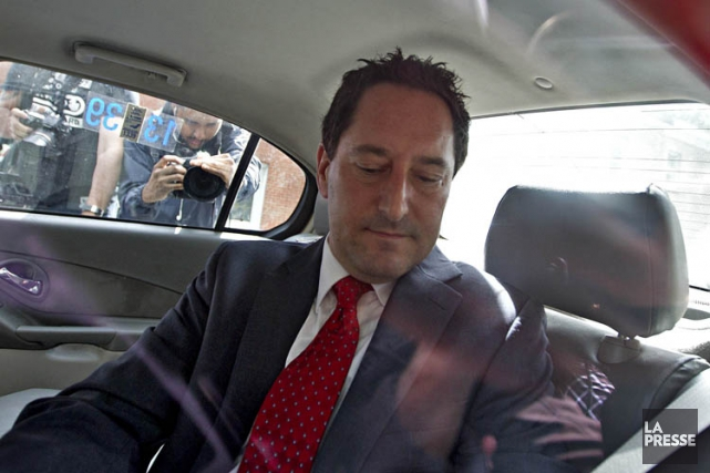Au moment de son arrestation, Michael Applebaum était... (PHOTO PATRICK SANFAÇON, ARCHIVES LA PRESSE)