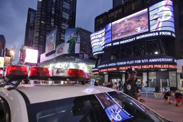 La police de New York n'arrêtera plus les auteurs de certaines infractions,... (PHOTO AP)