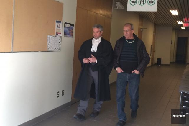 Serge Vallée avait discuté récemment avec son avocat,... (Archives Le Quotidien)