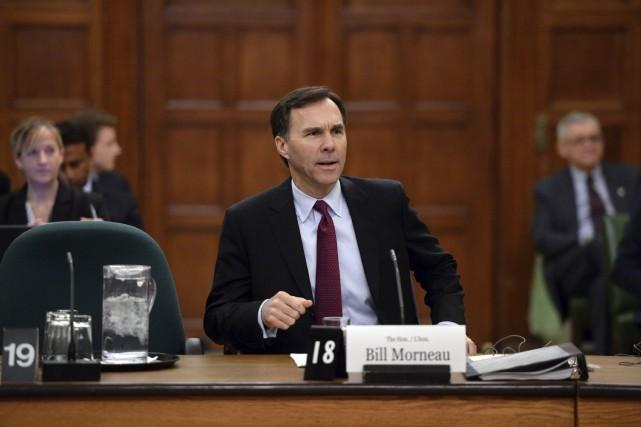 Le ministre des Finances, Bill Morneau... (La Presse Canadienne, Sean Kilpatrick)
