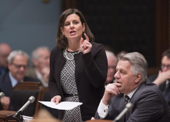La ministre de la Justice, Stéphanie Vallée... (La Presse Canadienne, Jacques Boissinot)
