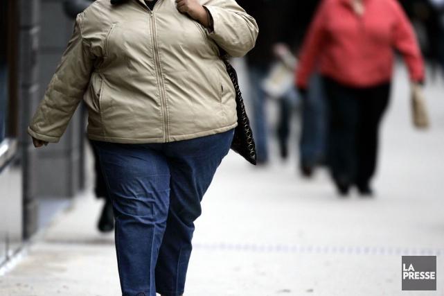 Les gens en surplus de poids jugés «en... (Archives La Presse canadienne)