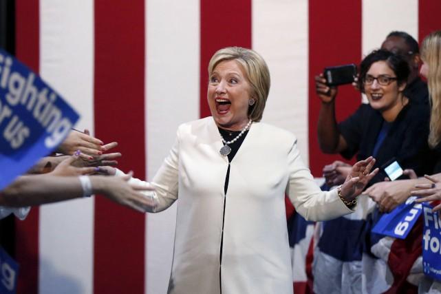 Hillary Clinton a remporté les primaires en Arkansas,... (AP, Gerald Herbert)