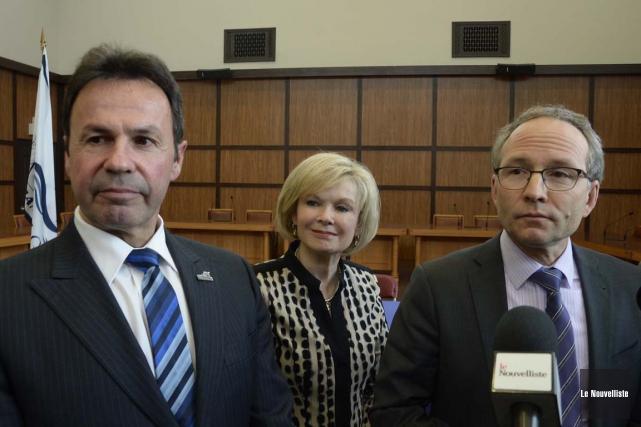 Le nouveau ministre des Affaires municipales et de... (Sylvain Mayer, Le Nouvelliste)