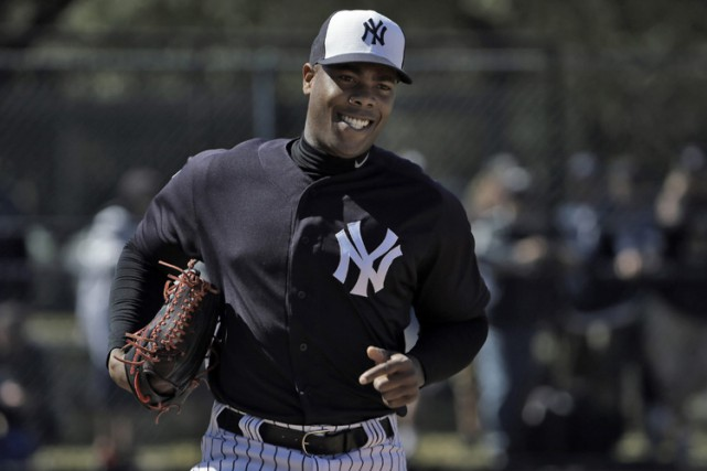 Aroldis Chapman... (PHOTO AP)