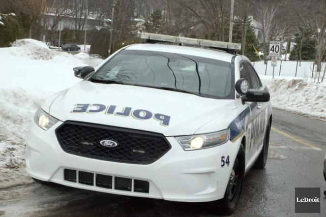 Service de police de la Ville de Gatineau... (Martin Roy, Archives LeDroit)