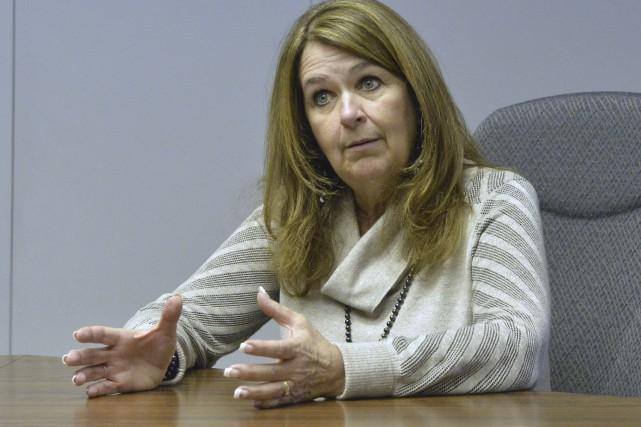 La présidente de l'Union des municipalités du Québec,... (Spectre Média, Maxime Picard)
