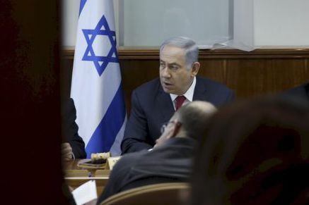 Benjamin Netanyahou... (PHOTO RONEN ZVULUN, REUTERS)