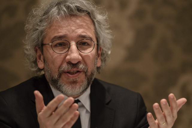Can Dündar... (PHOTO OZAN KOSE, ARCHIVES AGENCE FRANCE-PRESSE)