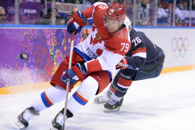 Andrei Markov fait partie des trois premiers défenseurs... (Photo Andrej Isakovic, AFP)