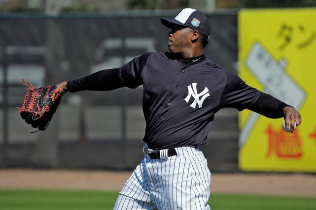 Le releveur numéro 1 des Yankees de New... (Photo Chris O'Meara, AP)