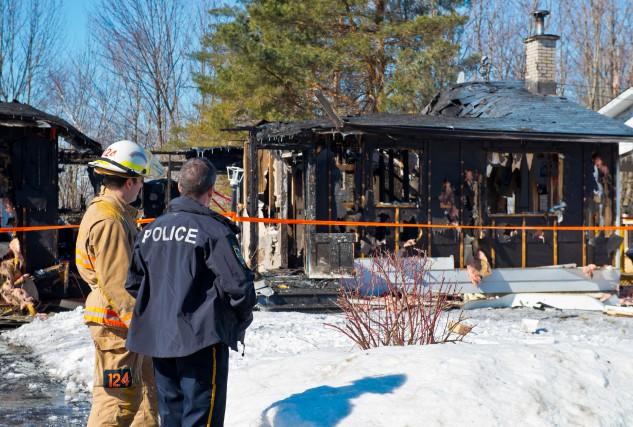 Les enquêteurs du Service de police de Sherbrooke (SPS) n'ont pas encore pu... (Spectre Média, Jessica Garneau)