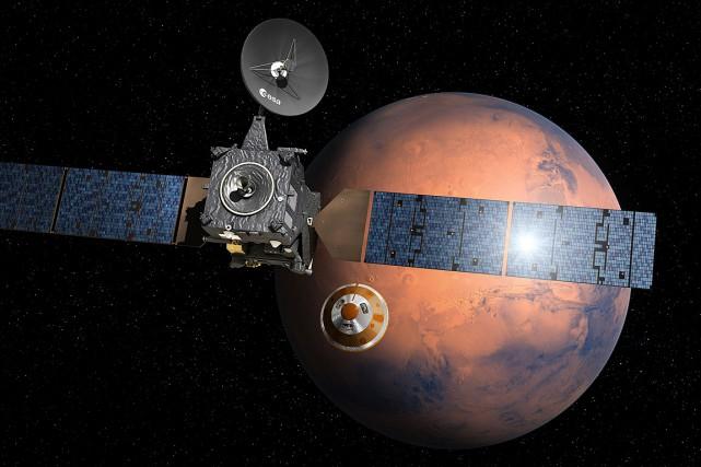 Les scientifiques espèrent trouver grâce à une mission... (Photo fournie par l'Agence spatiale européenne)