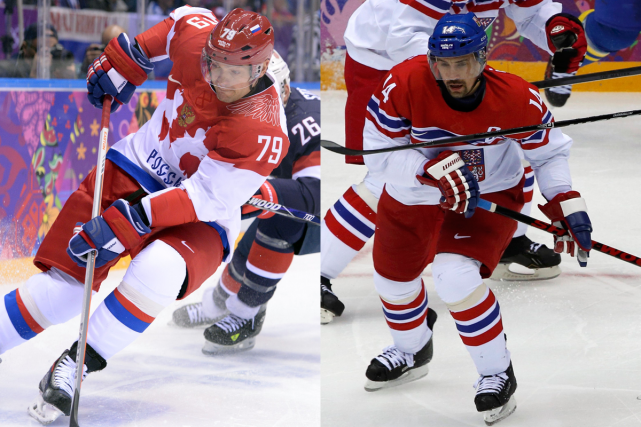 Andrei Markov et Tomas Plekanec... (Photos archives AFP et Reuters)