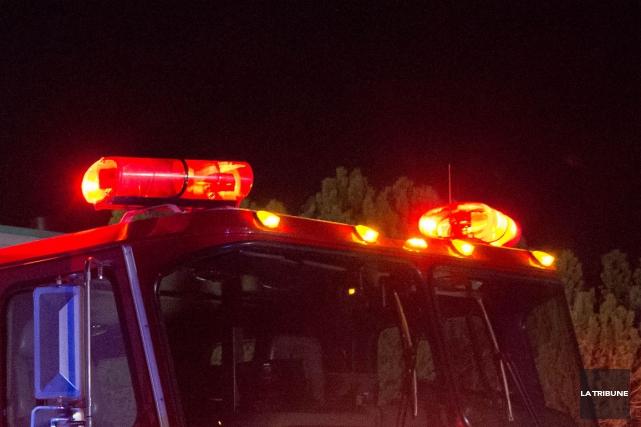 Une enquête est en cours concernant un incendie dans un chalet de la route 263,... (Archives La Tribune)