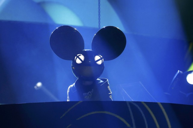 Deadmau5, de son vrai nom Joel Zimmerman.... (PHOTO REUTERS)