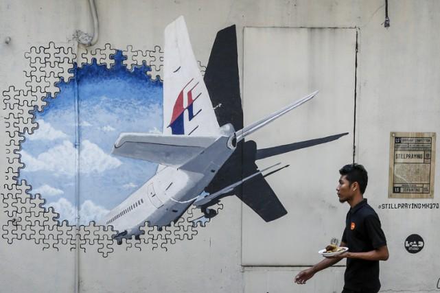 À ce jour, seul un fragment d'aile de... (PHOTO AFP)