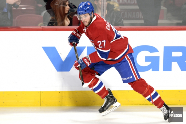 Alex Galchenyuk... (PHOTO BERNARD BRAULT, LA PRESSE)