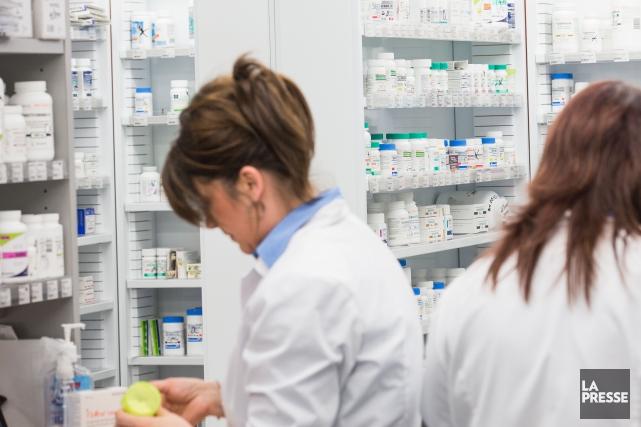 8917: Nombre de pharmaciens au Québec en 2015 (Archives, La Presse)