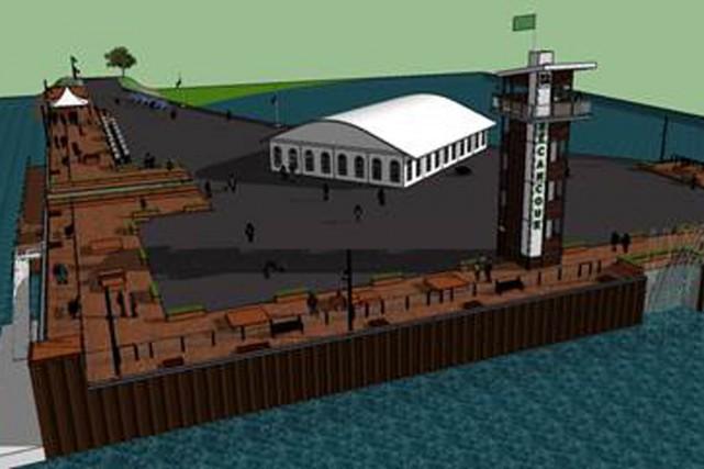 Voilà à quoi pourrait ressembler la future tour...