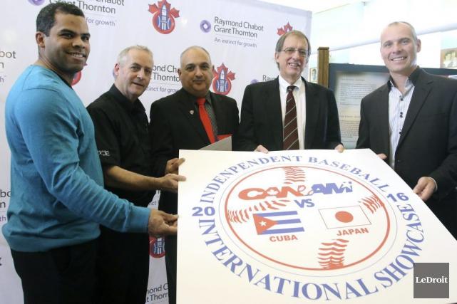 Les Cubains rendront visite aux Champions d'Ottawa du... (Patrick Woodbury, LeDroit)
