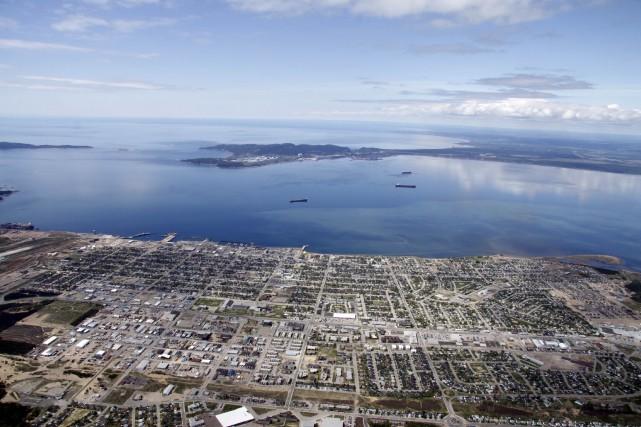 La baie de Sept-Îles sera scrutée par les... (fournie par le Port de Sept-Îles)