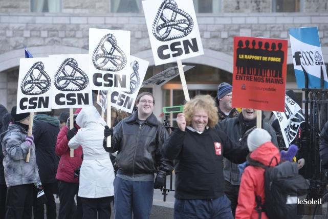 La FSSS-CSN représente 110 000 personnes.... (Archives, Le Soleil)