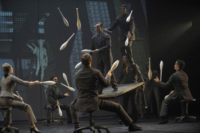 Le Cirque Éloize effectuera sa «première grande incursion» en Chine avec son... (Valérie Remise, Courtoisie Cirque Éloize)