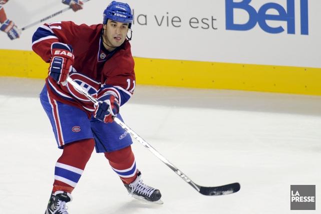 En trois saisons avec le Canadien de Montréal,... (Archives, La Presse)