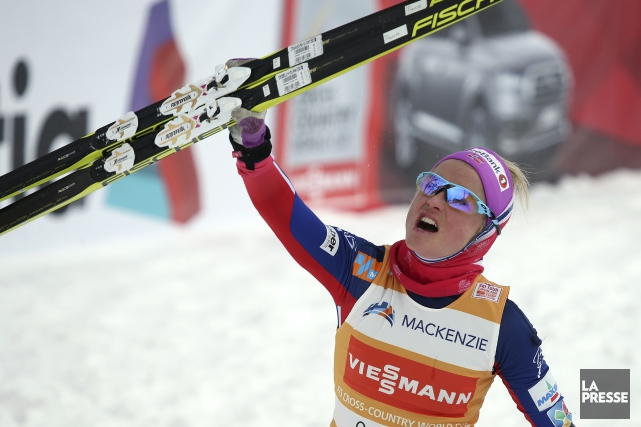 Therese Johaug, qui trône au sommet du classement... (Photo Martin Chamberland, archives La Presse)