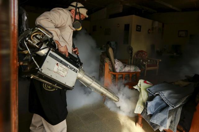 Une épidémie de Zika, transmis par la piqûre... (AP, Arnulfo Franco)