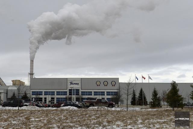 Tafisa Canada, de Lac-Mégantic, vient d'annoncer qu'elle investit... (Archives, La Tribune)