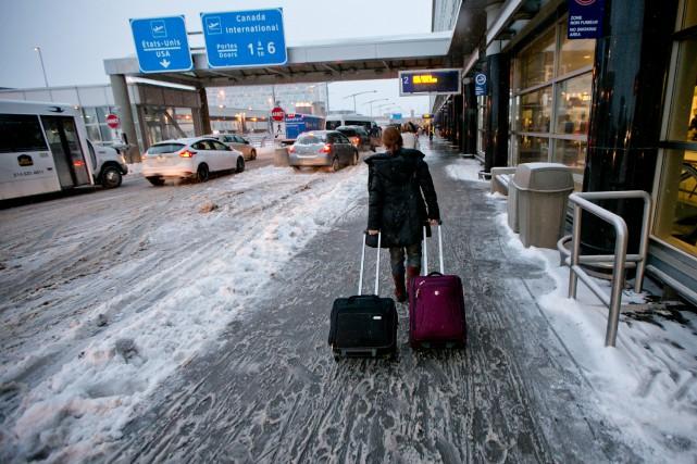 Si Montréal a été épargné par la tempête,... (PHOTO DAVID BOILY, LA PRESSE)