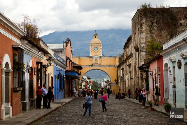 Antigua, Guatemala.... (PHOTO MARTIN CHAMBERLAND, ARCHIVES LA PRESSE)