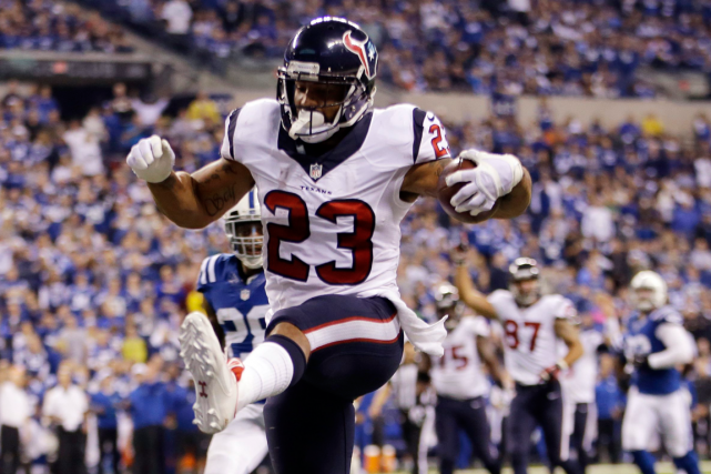 Arian Foster... (Photo AJ Mast, archives AP)