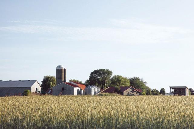 Vue d'ensemble de la fromagerie fermière Au gré... (PHOTO VIRGINIE GOSSELIN, TIRÉE DU LIVRE AU GRÉ DES CHAMPS)
