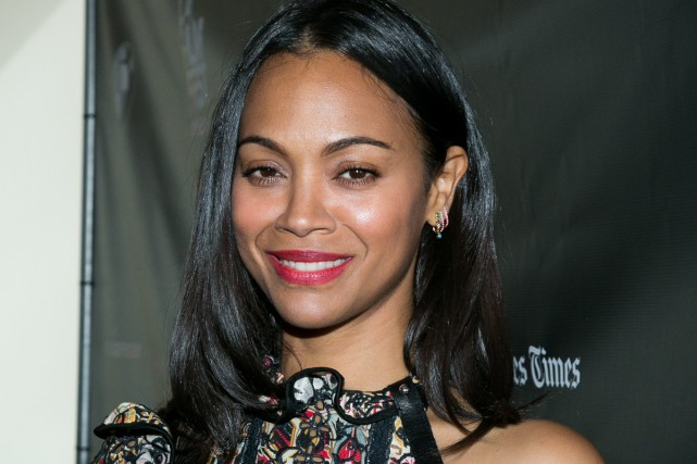 Zoe Saldana... (PHOTO ARCHIVES AP)