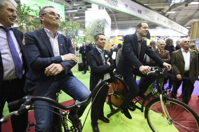 Le directeur du Tour de France, Christian Prudhomme... (PHOTO AFP)